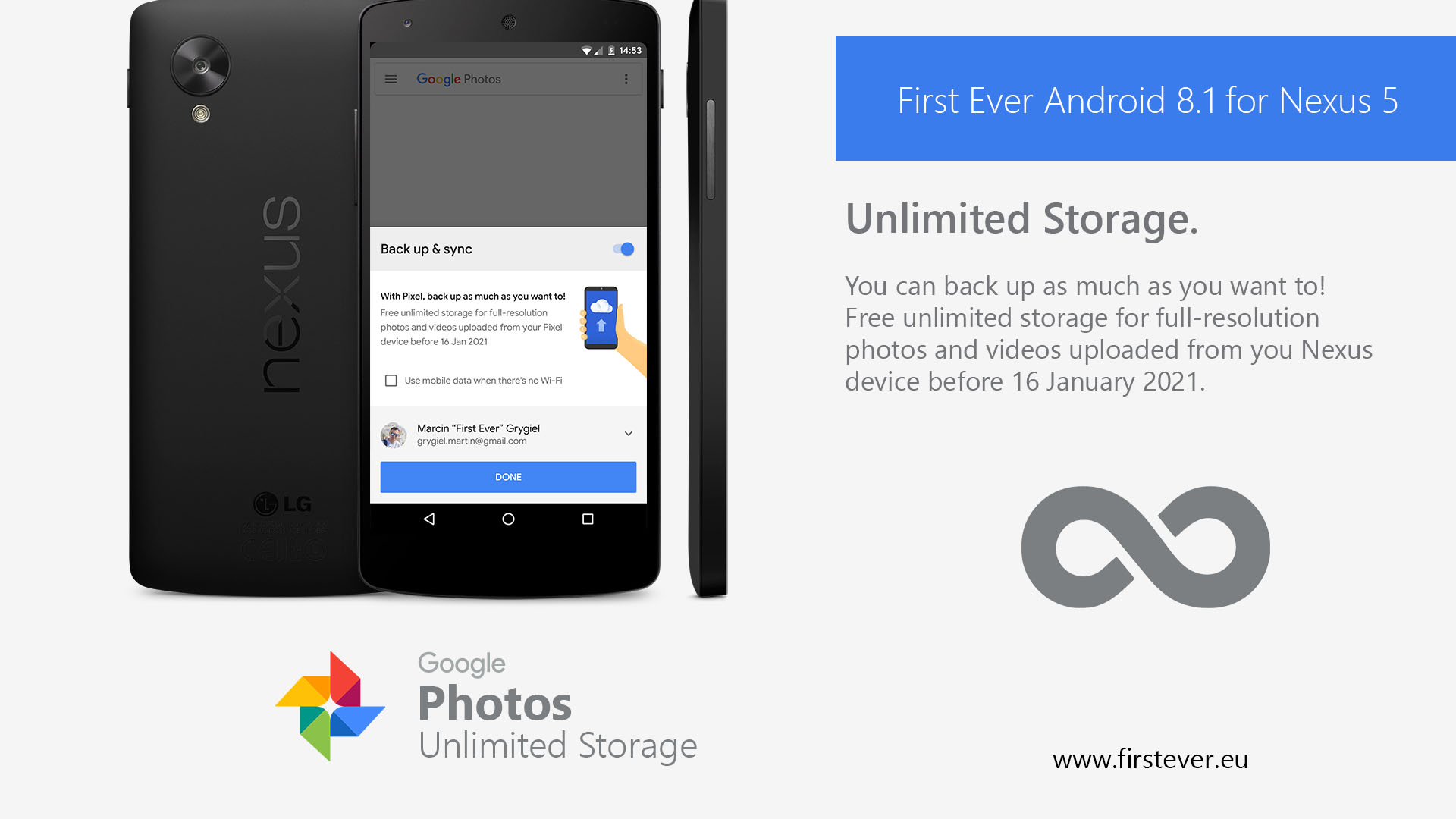 Google Photo Unlimited Storage