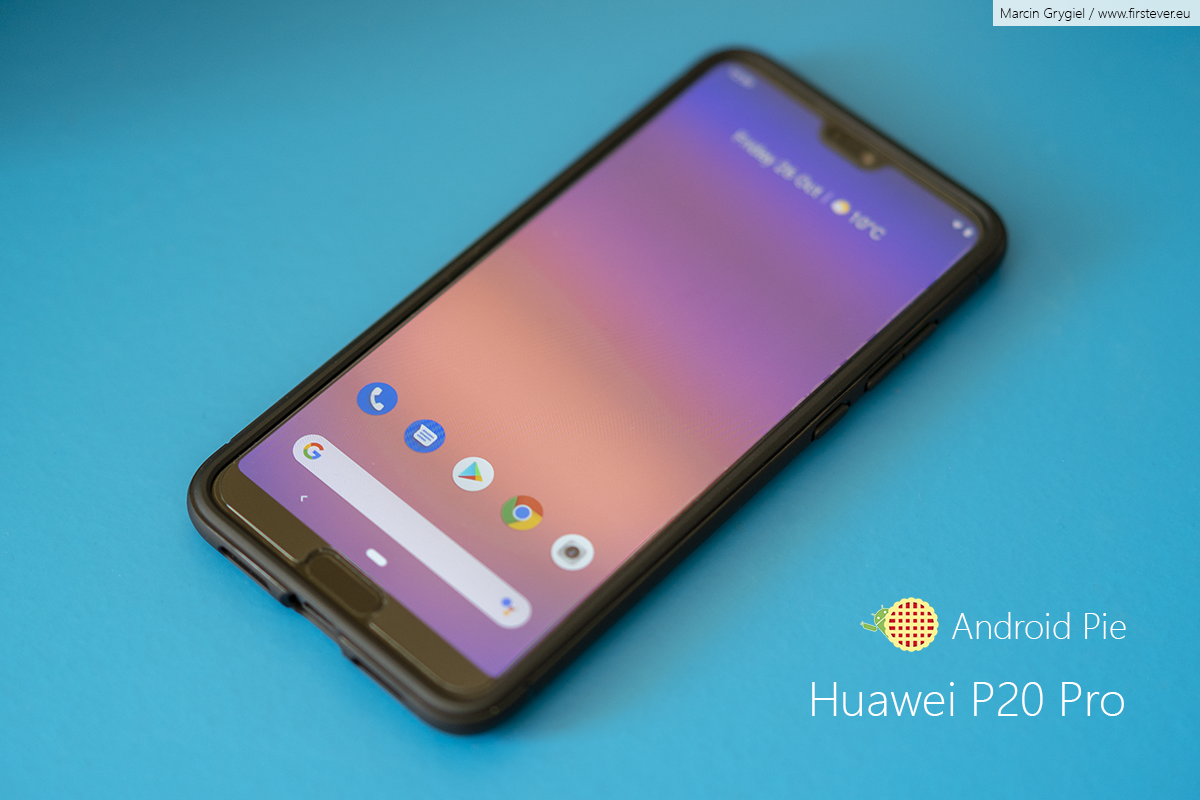 First Ever Android 9 0 for Huawei P20 Pro | First Ever